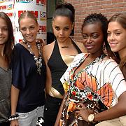 NLD/Amsterdam/20070515 - FHM verkiezing Meest Sexy vrouw van Nederland 2007, modellen, met oa. Ovo Holland Next top model