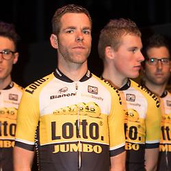 09-01-2015: Wielrennen: Perspresentatie Lotto Jumbo:: Rosmalen<br /> Bram Tankink