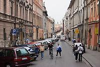 Swietego Jana Street in Stare Miasto Old Town in Krakow Poland