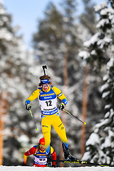 March 9, 2019 - –Stersund, Sweden - 190309 Peppe Femling of Sweden competes in the Men's 10 KM sprint during the IBU World Championships Biathlon on March 9, 2019 in Östersund..Photo: Petter Arvidson / BILDBYRÃ…N / kod PA / 92252 (Credit Image: © Petter Arvidson/Bildbyran via ZUMA Press)