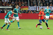 Toni Kroos (Germany) and Lucas Vasquez (Spain) during the International Friendly Game football match between Germany and Spain on march 23, 2018 at Esprit-Arena in Dusseldorf, Germany - Photo Laurent Lairys / ProSportsImages / DPPI