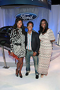 June 30, 2012-Los Angeles, CA : (L-R) Actress/TV personality Tocarra Carter, Actor Andre Royo and Monica Nelson, CEO, Uniworld Group attends the 2012 BET Awards- Media Room held at the Shrine Auditorium on July 1, 2012 in Los Angeles. The BET Awards were established in 2001 by the Black Entertainment Television network to celebrate African Americans and other minorities in music, acting, sports, and other fields of entertainment over the past year. The awards are presented annually, and they are broadcast live on BET. (Photo by Terrence Jennings)