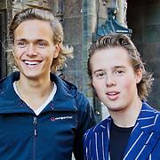 NLD/Amsterdam/20101003 - Premiere De Verschrikkelijke Ikke en de rest kan stikken, Pim Wessels en Sebastian Wulff