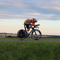 18-07-2016: Wielrennen: Thueringen Rundfahrt vrouwen: Zeulenroda    <br /> Ellen van Dijk reed naar de winst in de tijdrit van de Thueringen Rudgarht. De Woerdense won met ruime voorsprong