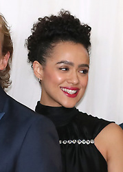 Nathalie Emmanuel attending the Game of Thrones Premiere, held at Waterfront Hall, Belfast.