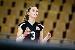 HUBER Tamina of Austrian national team during volleyball match between Slovenia and Austria in CEV Volleyball European Silver League 2021, on 6 of June, 2021 in Dvorana Ljudski Vrt, Maribor, Slovenia. Photo by Blaž Weindorfer / Sportida