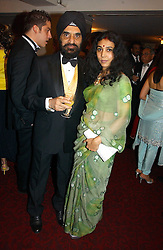 DR KARTAR LALVANI and his wife ROHINI at the 10th Anniversary Asian Business Awards 2006 at the London Grosvenor Hotel Park Lane, London on 19th April 2006.<br /><br />NON EXCLUSIVE - WORLD RIGHTS