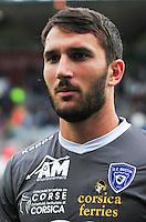 Thomas Vincensini - 16.08.2015 - Lorient / Bastia - 2e journee Ligue 1<br /> Photo : Philippe Le Brech / Icon Sport
