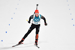 February 10, 2018 - Pyeongchang, South Korea - 180210 Franziska Hildebrand of Germany   competes in the Women's Biathlon 7,5 km Sprint during day one of the 2018 Winter Olympics on February 10, 2018 in Pyeongchang..Photo: Petter Arvidson / BILDBYRN / kod PA / 87614 (Credit Image: © Petter Arvidson/Bildbyran via ZUMA Press)