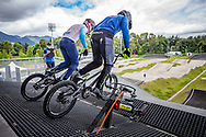 2021 UCI BMXSX World Cup<br /> Round 3 and 4 at Bogota (Colombia)<br /> ^me#74 FURLAN, Mattia (ITA, ME) Stay Strong