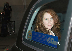 Rebekah and Charlie Brooks leave the Old Bailey after the official start of the Phone Hacking Trial, London, United Kingdom. Wednesday, 30th October 2013. Picture by i-Images