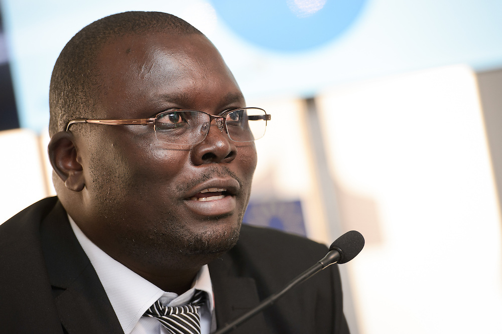 03 June 2015 - Belgium - Brussels - European Development Days - EDD - Climate - Disaster risk reduction , resilience , climate change adaptation - Connecting the dots - Charles Kevin Otieno , World Vision Sector Lead - Livelihoods and Resilience © European Union