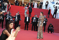 May 20, 2017 - Cannes, France - THYLANE BLONDEAU Okja Red Carpet Arrivals - The 70th Annual Cannes Film Festival.CANNES, FRANCE - MAY 19: attends the 'Okja' screening during the 70th annual Cannes Film Festival at Palais des Festivals on May 19, 2017 in Cannes (Credit Image: © Visual via ZUMA Press)