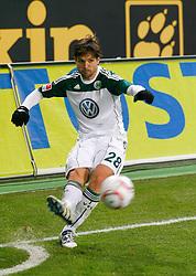 25.02.2010, Volkswagen Arena, Wolfsburg, GER, 1.FBL, VfL Wolfsburg vs Borussia Moenchengladbach, im Bild Diego (Wolfsburg #28).EXPA Pictures © 2011, PhotoCredit: EXPA/ nph/  Schrader       ****** out of GER / SWE / CRO  / BEL ******