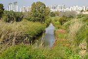 Poleg River Nature Reserve - Yakum Park, Near Natanya, Israel