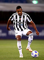 BOLOGNA, ITALY - MAY 23: Alex Sandro of Juventus FC in action ,during the Serie A match between Bologna FC and Juventus FC at Stadio Renato Dall'Ara on May 23, 2021 in Bologna, Italy.(Photo by MB Media/Getty Images)