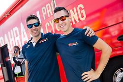 David Tratnik and Rok Novak of Bahrain Merida Team during Stage 3 of 24th Tour of Slovenia 2017 / Tour de Slovenie from Celje to Rogla (167,7 km) cycling race on June 16, 2017 in Slovenia. Photo by Vid Ponikvar / Sportida