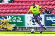 Exeter City's Nigel Atangana (4) during the EFL Cup match between Bristol City and Exeter City at Ashton Gate, Bristol, England on 5 September 2020.