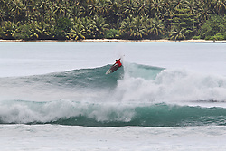 Aug 24, 2018 - Lagundri Bay, Indonesia - Luke Adolfson during Nias Pro in Lagundri Bay, Indonesia. (Credit Image: ? WSL/ZUMA Wire/ZUMAPRESS.com)