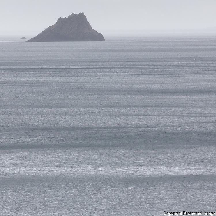 Shag Rock, Portloe, Cornwall.