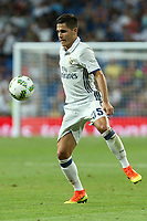 Real Madrid's Tejero during the XXXVII Bernabeu trophy between Real Madrid and Stade de Reims at the Santiago Bernabeu Stadium. August 15, 2016. (ALTERPHOTOS/Rodrigo Jimenez)
