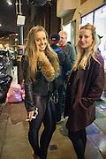 ANNA OLSZEWSKI-LEWIS; LILY GATEHOUSE;   Casio Tokyo Trio Watch  launch party  hosted by My Flash Trash. The Study, 10a Blandford Street, London. 28 January 2013