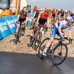 22-08-2020: Wielrennen: NK vrouwen: Drijber<br /> Amy Pieters (Netherlands / Boels - Dolmans Cycling Team), Jeanne Korevaar (Netherlands / CCC Liv), Anna van der Breggen (Netherlands / Boels - Dolmans Cycling Team)