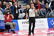 DESCRIZIONE : Pesaro Lega A 2014-2015 Consultinvest Pesaro EA7 Emporio Armani Milano <br /> GIOCATORE : Saverio Lanzarini arbitro<br /> CATEGORIA : arbitro<br /> SQUADRA : arbitro<br /> EVENTO : Campionato Lega A 2014-2015<br /> GARA : Consultinvest Pesaro EA7 Emporio Armani Milano<br /> DATA : 23/03/2015<br /> SPORT : Pallacanestro<br /> AUTORE : Agenzia Ciamillo-Castoria/GiulioCiamillo<br /> GALLERIA : Lega Basket A 2014-2015<br /> FOTONOTIZIA : Pesaro Lega A 2014-2015 Consultinvest Pesaro EA7 Emporio Armani Milano<br /> PREDEFINITA :