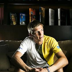 BOULOGNE BILLANCOURT, FRANCE. MAY 24, 2011. International tennis player Jarkko Nieminen at his hotel, during the Roland-Garros tournament. (photo: Antoine Doyen)
