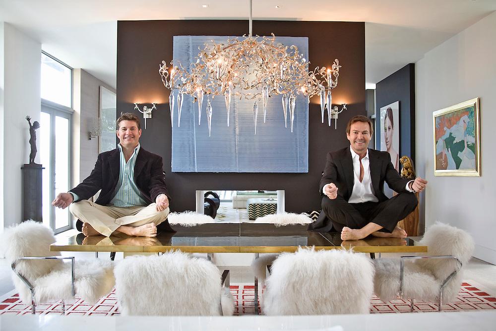 Todd Davis and Rob Brown