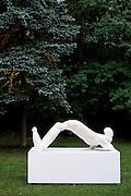 HELCHTEREN, BELGIUM - 15/05/2008 - ARTS / CULTURE, Opening of the exhibition at Kasteel Ter Dolen of Johan TAHON, with Rik DE LEEUW and Wivina DE MEESTER..© Christophe VANDER EECKEN Work by or related to Johan Tahon