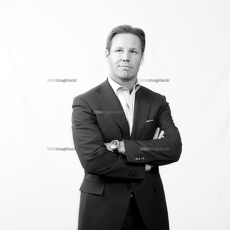 Jørgen Ulvness, director of First Securites in Oslo, Norway. Photo: Christopher Olssøn.