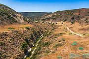 Water Canyon Campground, Santa Rosa Island, Channel Islands National Park, California USA