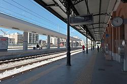stazione di Brindisi, situata nel centro della città