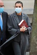 120420 Queen Letizia attends Meeting of the Urgent Spanish Foundation 'FundeuRAE'