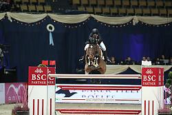 Reid Chloe, (USA), Codarco<br /> DKB-Riders Tour<br /> Grand Prix Kreditbank Jumping München 2015<br /> © Hippo Foto - Stefan Lafrentz