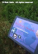 Educational Sign, Tyler Arboretum, Delaware Co., PA, Philadelphia Gardens and Arboretums