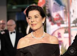 Princess Caroline of Hanover attends the Rose Ball 2019 at Sporting in Monaco, Monaco. Photo by Palais Princier/Gaetan Luci/SBM/ABACAPRESS.COM