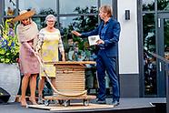 Koningin Maxima opent 21 juni 2018 gebouw Zuid van de Performance Factory in Enschede.