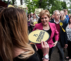 Nicola Sturgeon campaigns | Edinburgh | 1 June 2017