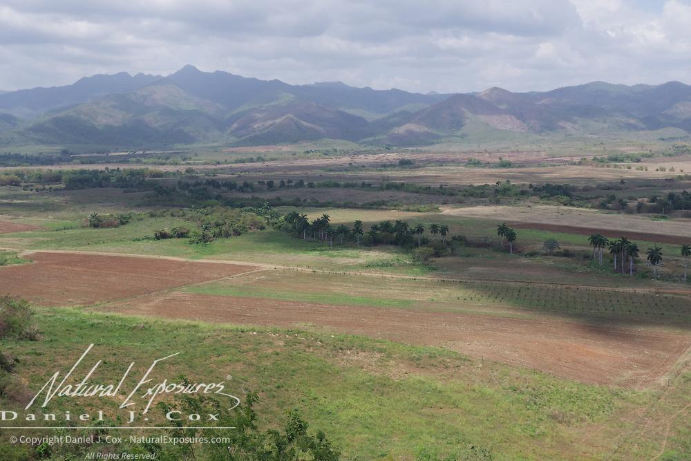 Valley de los Ingenios or Valley of the Sugar Mills, Cuba.