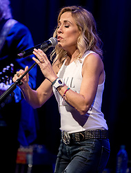 June 08, 2017 - Los Angeles, California, U.S. -  SHERYL CROW talks about her career, the making of her new album 'Be Myself' and performs a short set of music at the GRAMMY Museum at L.A. Live.(Credit Image: © Brian Cahn via ZUMA Wire)
