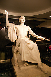 Smithsonian Museum of American History, Sculpture of Washington, Washington, DC, dc124457