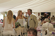 Lady Alexandra Gordon-Lennox and Viscount Astor. Cartier Style et Luxe champagne reception and lunch at the  the Goodwood festival of Speed. 9 July 2006. -DO NOT ARCHIVE-© Copyright Photograph by Dafydd Jones 66 Stockwell Park Rd. London SW9 0DA Tel 020 7733 0108 www.dafjones.com