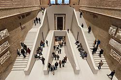 Interior of Neues Museum in Berlin, Germany