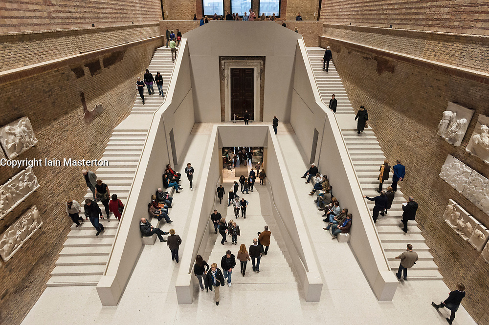 Interior of Neues Museum in Berlin, Germany