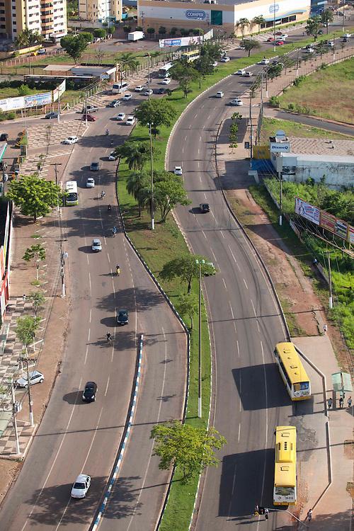 Cuiaba_MT, Brasil...Vista da Avenida CPA em Cuiaba, Mato Grosso...View of the CPA avenue in Cuiaba, Mato Grosso...Foto: LEO DRUMMOND / NITRO