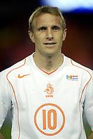 Fotball<br /> VM-kvalifisering<br /> Andorra v Nederland<br /> 17. november 2004<br /> Foto: Digitalsport<br /> NORWAY ONLY<br /> Debutant barry van galen