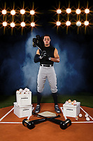 Yankess Aaron Judge poses for a portrait for Adidas.<br /> <br /> ( Photo/Tom DiPace)