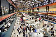 Nederland, Amsterdam, 4-11-2018AAF, The Affordable Art Fair in de kromhouthal . Dit is een kunstbeurs voor betaalbare moderne kunst. Foto: Flip Franssen